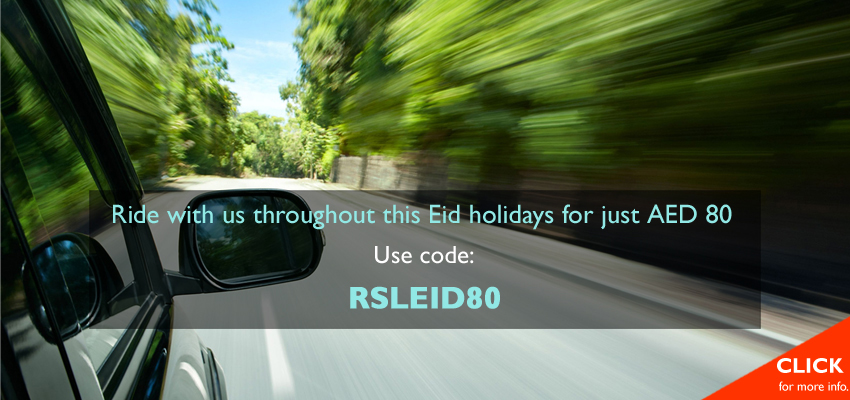 Eid offer limo ride in Dubai